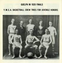 Image of Y.M.C.A. Basketball Crew Tries for Juvenile Honors, 1920, p.26