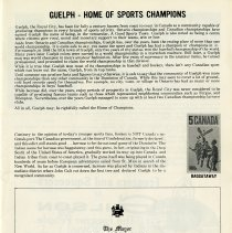 Image of Guelph, Home of Sports Champions, p.3
