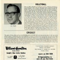 Image of Volleyball, Cricket, p.7