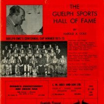Image of The Guelph Sports Hall of Fame by Harold A Cole, 1972