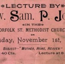 Image of Lecture Ticket, 1888