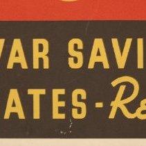 Image of Buy War Savings Certificates Poster, Detail