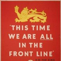 Image of Buy War Savings Certificates Poster