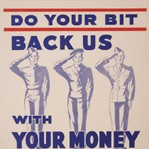 Image of Do Your Bit War Poster