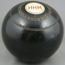 Image of 1980.95.10 - Ball, Lawn Bowling