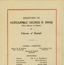 Image of Back Cover of Program