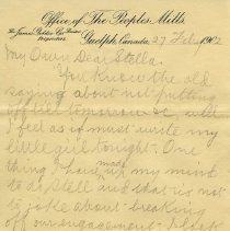 "Image of .2 - Letter to ""Stella"" from Lincoln, Feb. 27, 1902"