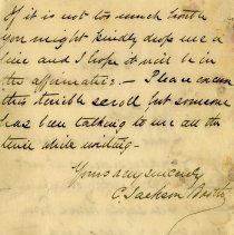 Image of Letter from C. Jackson Booth, p.3