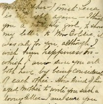 Image of Letter from Auntie Sue, p.4