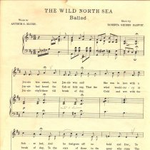 Image of The Wild North Sea music pg 1