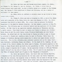 Image of Dr. Thomas H. Orton, page 3