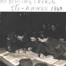 Image of CWAC Map Reading Course, 1943