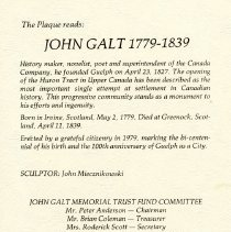 Image of John Galt Unveiling Programme, page 3