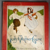 Image of Jolly Mother Goose Book - Front