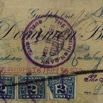 Image of Money Order, Kloepfer Coal Company, 1924