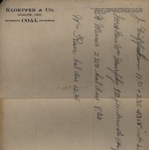 Image of Letterhead of Kloepfer Coal Co.