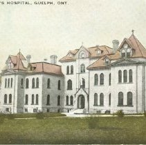 Image of St. Joseph's Hospital, c. 1900