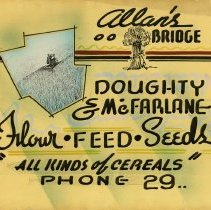 Image of Advertising Poster, Doughty & McFarlane Mill
