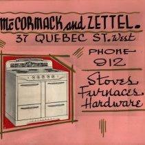 Image of McCormack & Zettel Poster