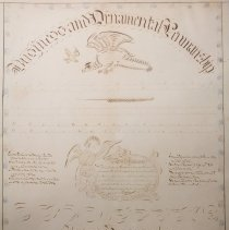 Image of Certificate for Business & Ornamental Penmanship