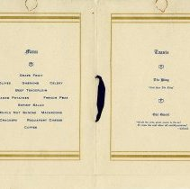 Image of .2 - Menu and Toasts