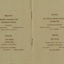 Image of Program, September 1914 - January 1915, pp.4-5