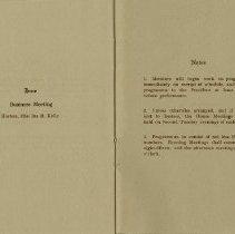 Image of Program, June 1915; Notes, pp.6-7