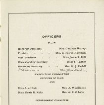 Image of Officers & Executive Committee, p.1