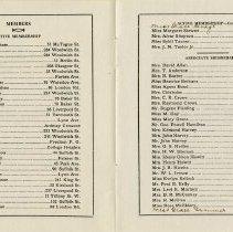 Image of Membership List, pp.2-3