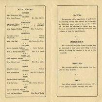 Image of Plan of Work; Objects, Membership, Meetings & Fees, pp.2-3