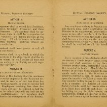 Image of Raymond Employee Rules, pages 2 and 3