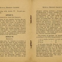 Image of Raymond Employee Rules, pages 4 and 5