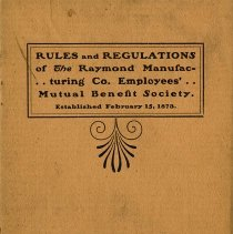 Image of 1982.66.3 - Book, Rule