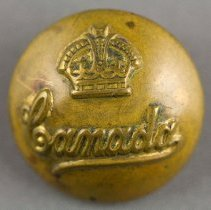 Image of Canada Military Button - Front