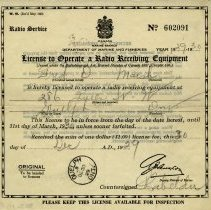 Image of 1983.11.5 - License