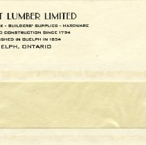 Image of Windowed Envelope, Stewart Lumber Limited