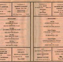 Image of Programme, pages 2-3
