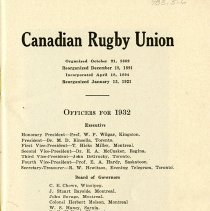 Image of Officers for 1932, p.1