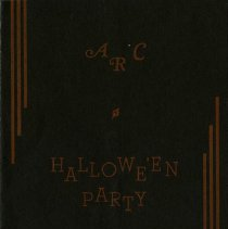 Image of Invitation to Argonaut Rowing Club Hallowe'en Party
