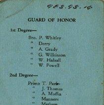 Image of Guard of Honour
