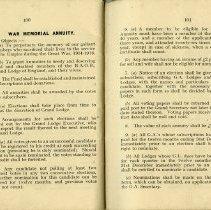 Image of War Memorial Annuity, pp.100-101