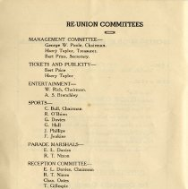 Image of Re-Union Committees, p.4