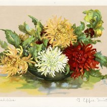 """Image of """"Dahlias"""" by G. Effie Smith"""