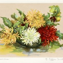 "Image of ""Dahlias"" by G. Effie Smith"