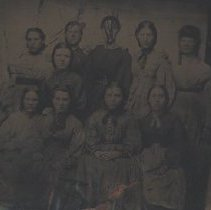 Image of Group of Women, c.1865
