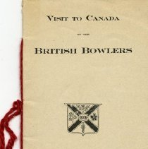 Image of Visit to Canada of the British Bowlers, 1906
