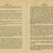 Image of Committees; Meetings, pp.16-17