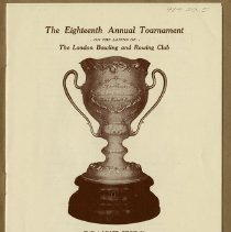 Image of The 18th Annual Tournament, London Bowling & Rowing Club, p.1