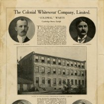 Image of Magazine Article, Colonial Whitewear Company