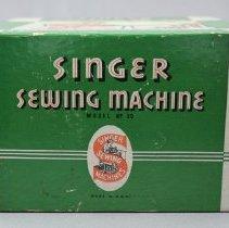 Image of Sewing Machine Box Side 1